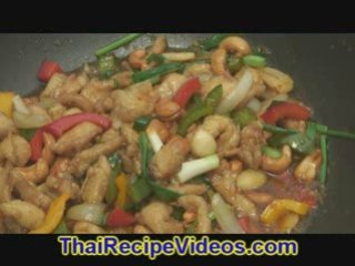 Chicken Cashew, Thai Chicken Cashew recipe