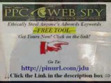 Pay Per Click PPC Spy Tool See Anyone's Keywords NEW
