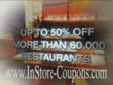 In Store Coupons & Discounts Online Shopping Coupons