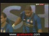 INTER MILAN - ROMA 1-0 BUT DE ADRIANO COUPE D'ITALIE