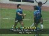 Maradona en Mexico 86 contra Inglaterra