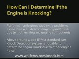 What is engine knock?