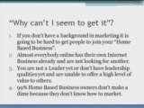 Marketing any Home-Based, MLM,Network Marketing Business