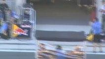 Formule Renault 3.5 sortie des stands pour départ