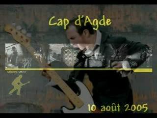 CONCERT CALOGERO Cap d'Agde (10/08/05)