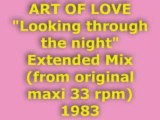 """ART OF LOVE """"Looking through the night"""" Extended Mix 1983"""