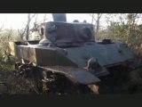 épaves de chars M5 stuart