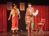 Les Martos spectacle clown Anita et Abélard clowns Uzes Gard