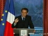 Sarkozy:Personne ne pourra s'opposer au Nouvel Ordre Mondial
