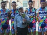 Remise maillots mapei + sortie club