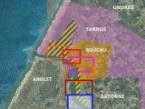Présentation de la zone portuaire Boucau Tarnos