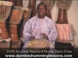 Djembe Drumming Lessons. Learn Quickly with Master Drummer