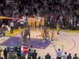 NBA Bobcats vs. Lakers January 27, 2009