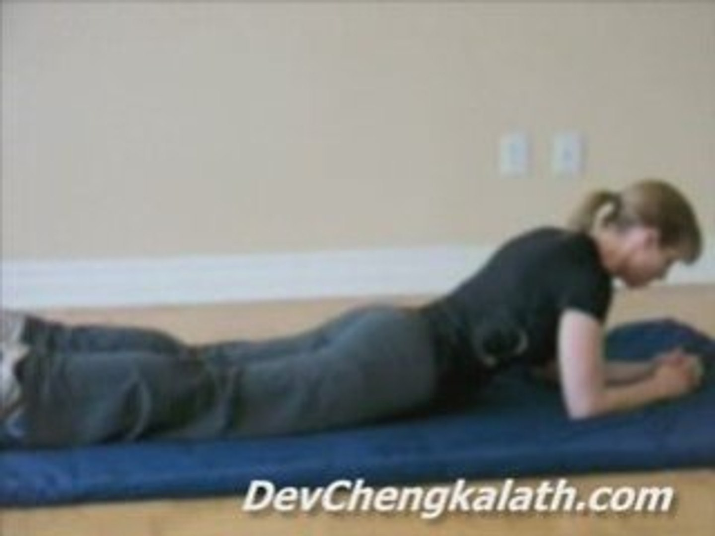 Best Exercise to Relieve Low Back Pain: Fronk Plank
