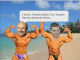 Dr Phil and Tom Cruise posing