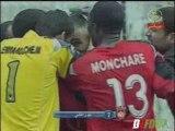 2008/2009 : USM Alger 2-1 JSM Bejaia (Doublé Bourahli)