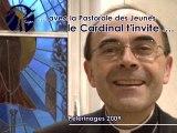 Invitation aux pèlerinages 2009  - Pastorale des Jeunes Lyon
