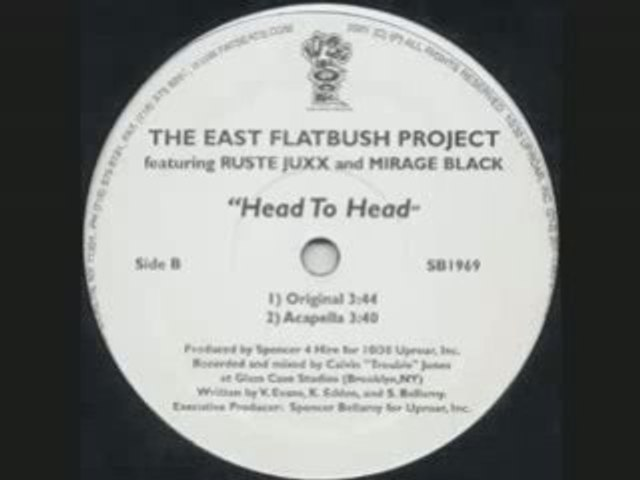 The East Flatbush Project - Head To Head