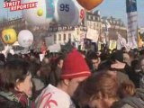 enseignants chercheurs manifestation