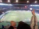PSG Caen joie Boulogne après but de Luyindula