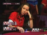World Cup of Poker WCP III Isabelle Mercier flops trips