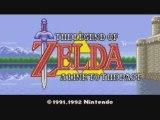 Introduction de Zelda : A Link to the Past (SNES)