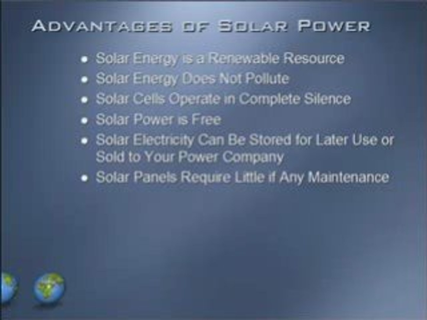 Advantages And Disadvantages Of Solar Power Video Dailymotion