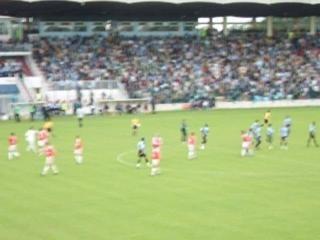 Tours FC - début du match