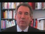 Voeux 2009 François Bayrou (version courte)
