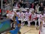 NBA Jameer Nelson wonderful alley-oop pass to Dwight Howard.