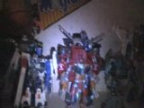 collection perso Transformers & Saint Seiya