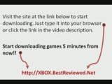 XBOX 360 Games Downloads -Download and Burn Unlimited Games!