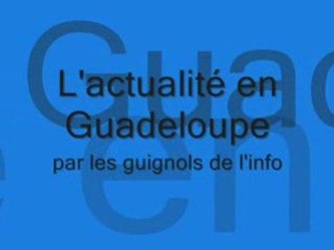 Grève Guadeloupe en Janvier 2009