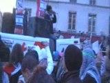 PARIS DOUA  MANIF DU 10 JANVIER  09 POUR GAZA PALESTINE