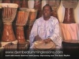 Djembe Drumming Teacher. Learn Quickly with Master Drummer