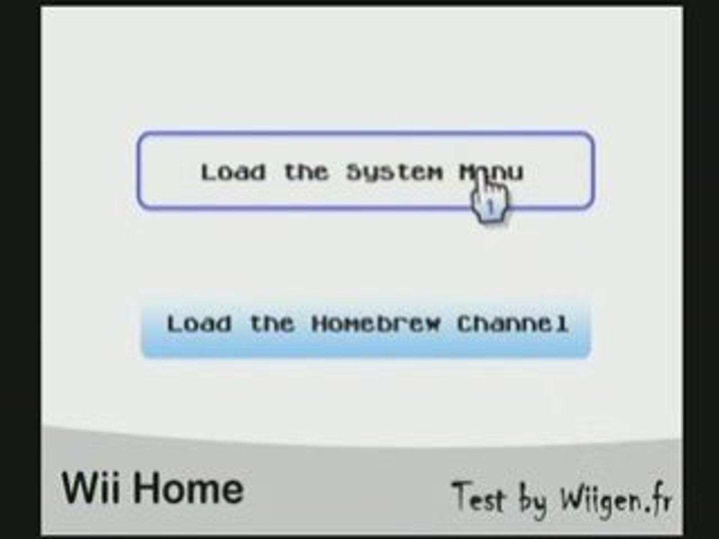 [Wii] Wii Home : A new Home for Your Wii