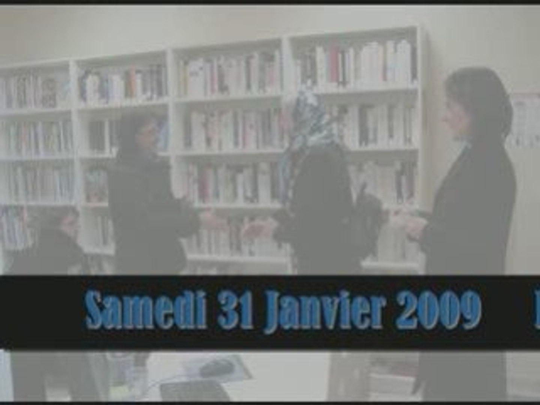 Livres en fête et Inauguration de la  bibliothèque