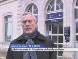 Romilly-sur-Seine : La gare en rénovation