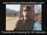 American Heroes Return Veterans 20.09 Cabin Campaign