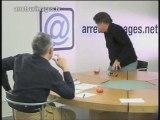 Kouchner : Péan  parle, et quitte le plateau d'@si