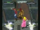 Super Smash Bros. - Mario VS Link VS Peach VS Samus