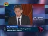 L'intervention télévisée de Sarkozy - Didier Pouillaude