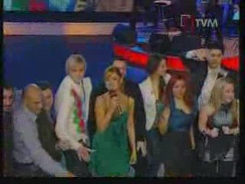 Eurovision 2009  Hadise sings Düm Tek Tek Sings in Malta