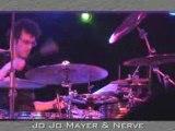 JoJo Mayer Solo Live Drumming Concert Clip 3 - Drums n Bass