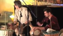 Concert de percussions en argile Terres qui chantent : Les tambours