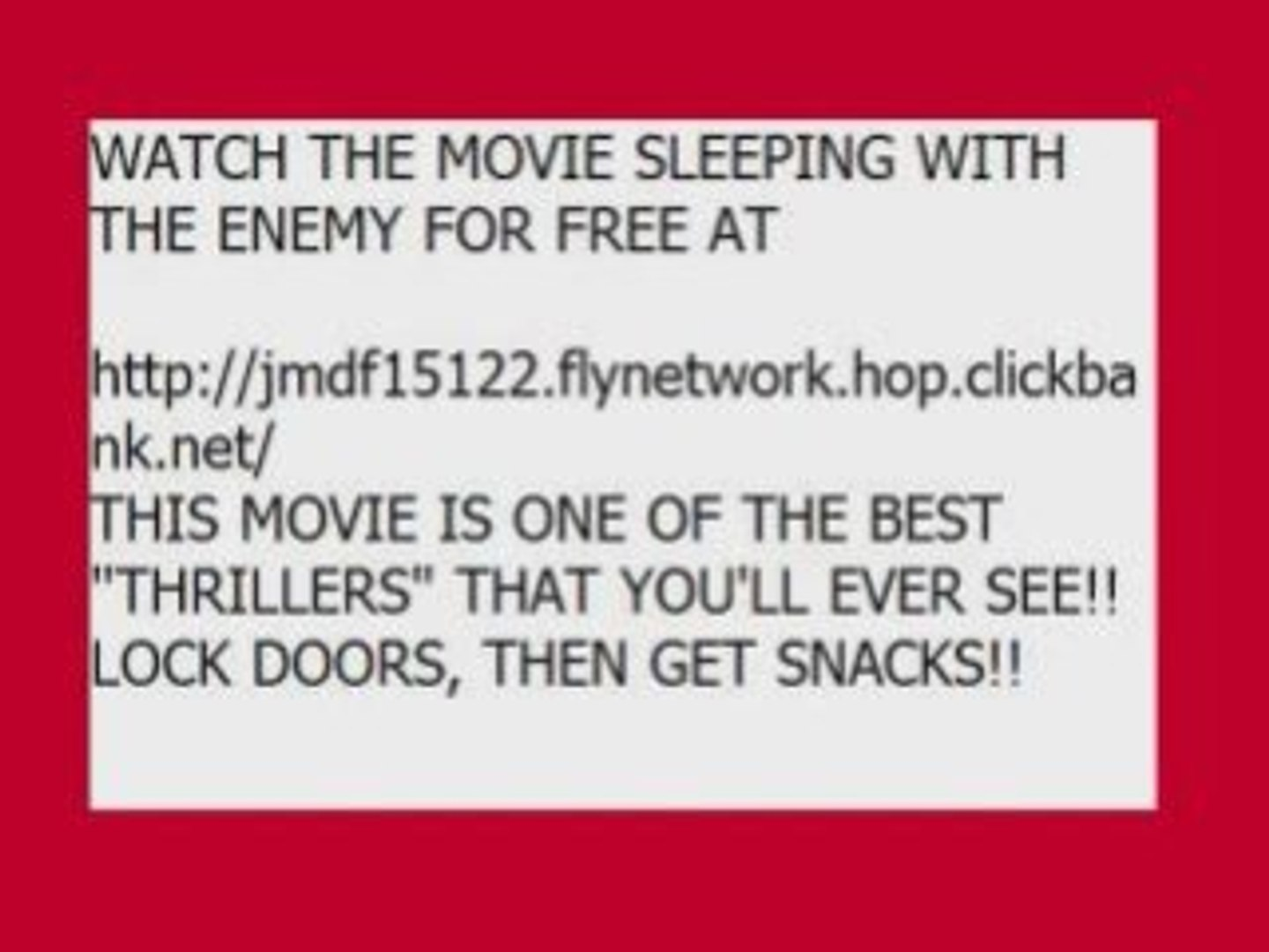 Watch The Movie Sleeping With The Enemy Video Dailymotion