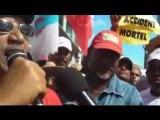 Prises de paroles , greve generale , lundi 9 fevrier 2009