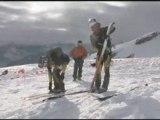Championnats de france ski alpinisme par équipe pelvoux 2009
