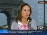 Ségolène Royal tacle Nicolas Sarkozy