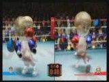 Espace d'animation jeux de sport sur console